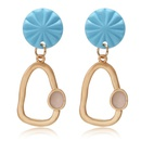 New irregular geometric metal earrings earrings niche fashion earrings female NHPF173969