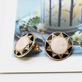 NHOM464330-925-silver-needle-stud-earrings