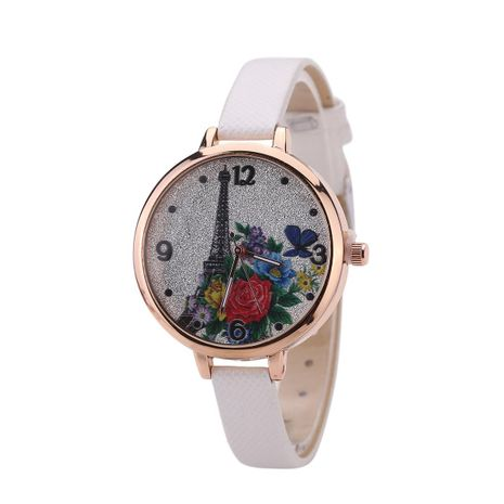 Stylish and simple style still belt quartz watch NHHK156126's discount tags