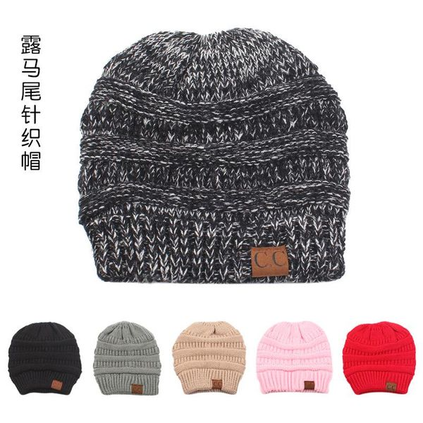 Fashion Korean version of the wild knitted wool hat NHXO156197
