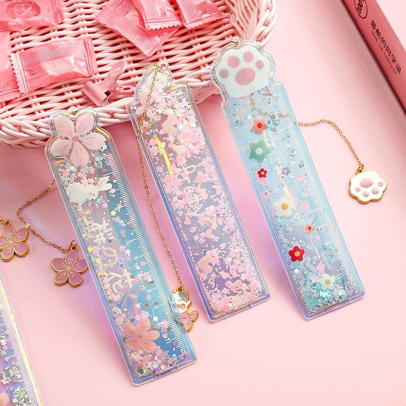 Cute cartoon oil sand ruler NHHE156208