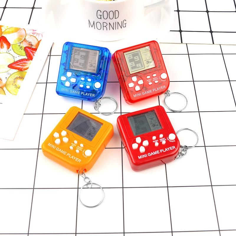 Creative trend Tetris mini game machine keychain NHCB156210