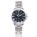 Fashion convex glass digital steel with double scale quartz watch NHHK156121