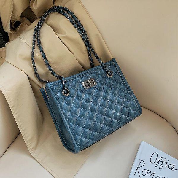 Wild Ocean rhombic chain handbag NHPB156345