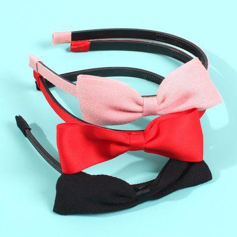 Fashion simple bow fabric headband NHMD156473's discount tags