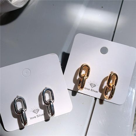 Creative small cool wind design alloy earrings NHYQ156516's discount tags
