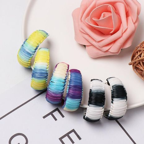C-shaped Lafite Earrings NHJJ156579's discount tags