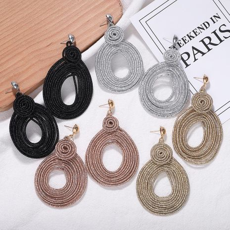 New fashion hand-woven earrings NHJQ156591's discount tags