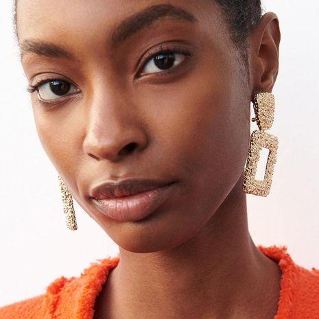 Geometric alloy earrings NHJJ156612's discount tags