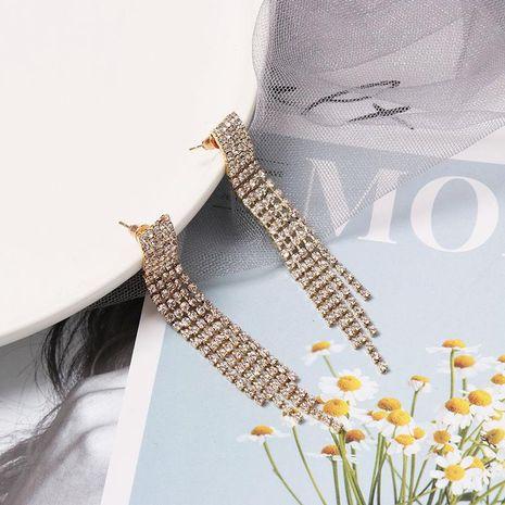 Long full tassel earrings NHJJ156619's discount tags