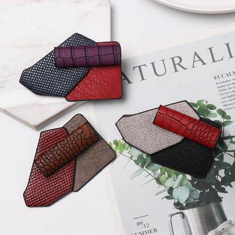 Vintage fashion geometric diamond brooch NHJJ156641's discount tags