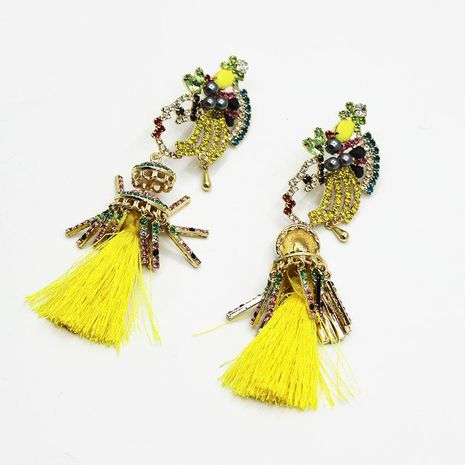 Womens Floral Plating Alloy other Earrings NHWJ156721's discount tags