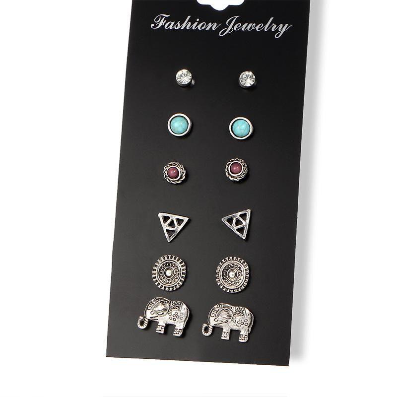 Womens Geometric Plating Alloy Other Earrings NHPJ156783