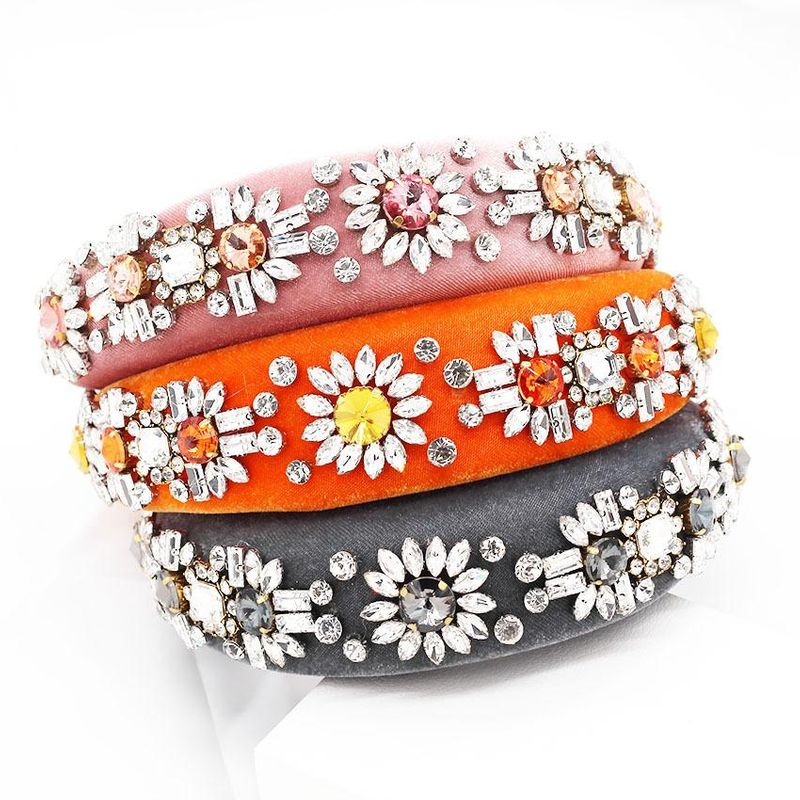 Womens Geometric Acrylic Hair Band & Headbands NHWJ156833