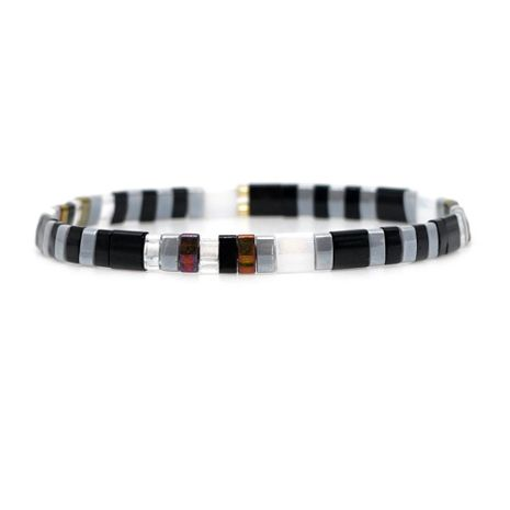Japan imported TILA rice beads woven female bracelet NHGW156836's discount tags