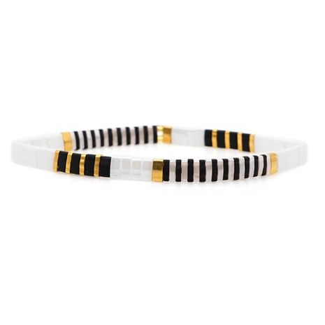 Fashion bohemian rice beads woven bracelet NHGW156839's discount tags