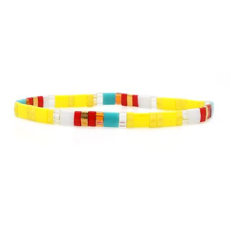 European and American fashion rice beads woven bracelet NHGW156843's discount tags