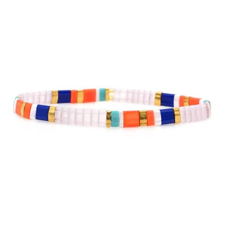 Fashionable woven Japanese rice beads bracelet NHGW156846's discount tags