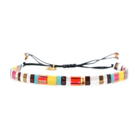 Woven Japanese rice beads bracelet NHGW156849's discount tags