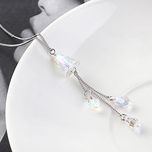Crystal Necklace Fashion NHSE383025