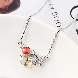Crystal Necklace Fashion NHSE383217