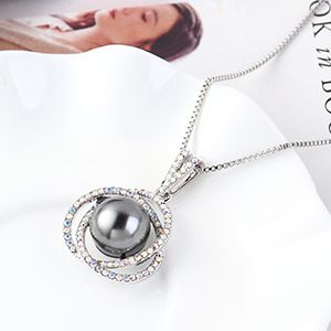 Crystal Necklace Fashion NHSE383231