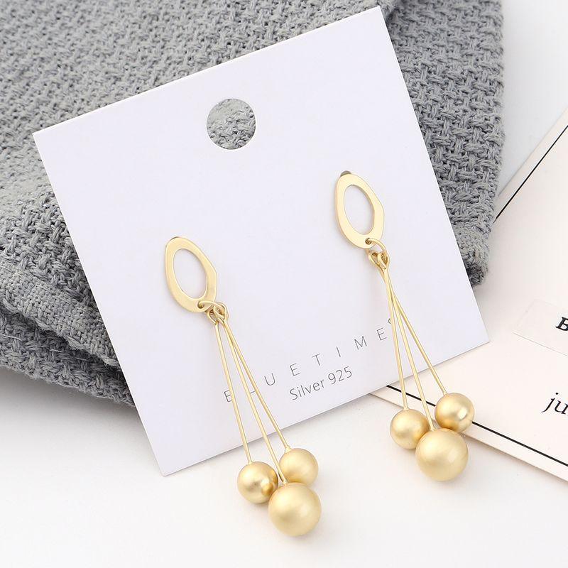 S925 Silver Needle Earring Fashion NHPS383322