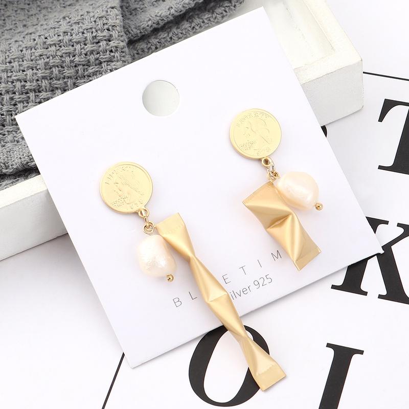 S925 Silver Needle Earring Fashion NHPS383325