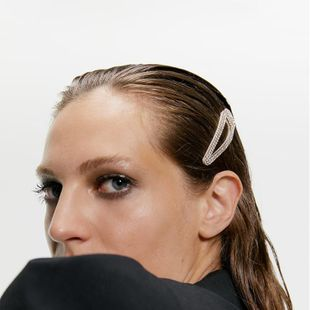 New alloy diamond hair clip set NHJQ157118's discount tags