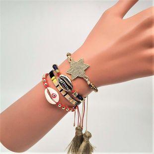 TILA mix and match Miyuki beads woven female bracelet NHGW157163's discount tags