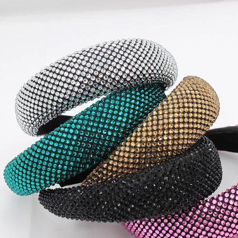 New Baroque full diamond sponge headband NHWJ157194's discount tags