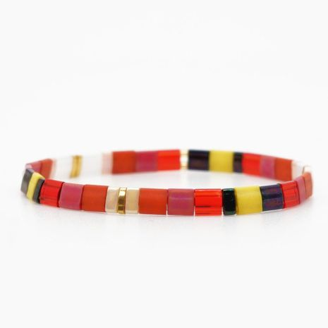 Fashion miyuki tila bead mix bracelet NHGW157198's discount tags