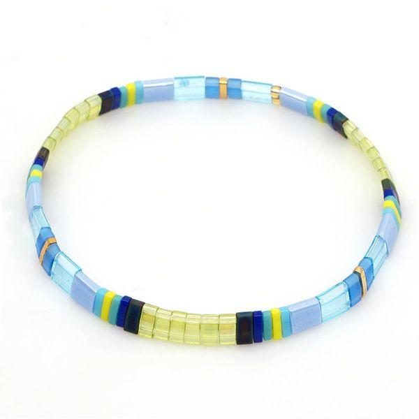 TILA beaded hand-woven bracelet NHGW157204