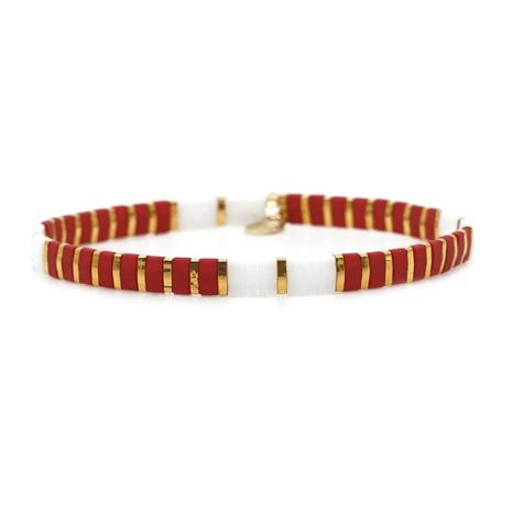 Fashion TILA beads mixed color bracelet NHGW157206's discount tags