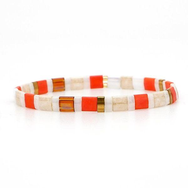 TILA Beads Mixed Weave Beaded Bracelet NHGW157213