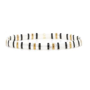 Miyaki TILA pulsera de damas con cuentas cuadradas de color mixto NHGW157214's discount tags
