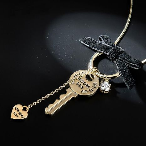 Womens Key Plating Alloy Choker NHLL157252's discount tags