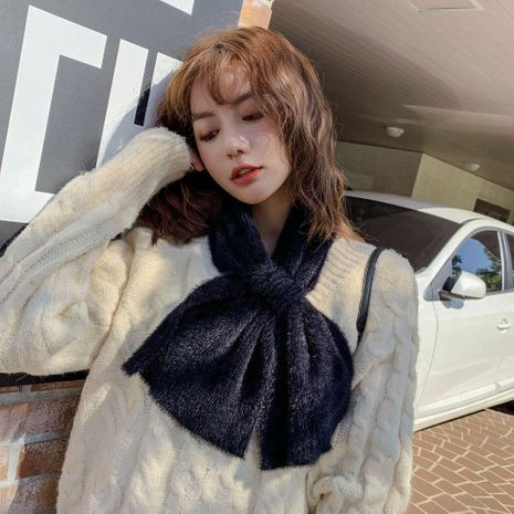 Autumn and winter long thick couple warm tassel scarf NHMN157354's discount tags