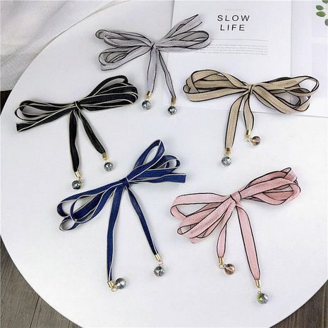 Wire rope, slender, narrow scarf, female scarf NHMN157365's discount tags