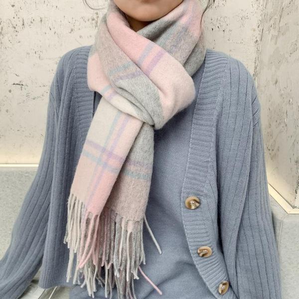 Long thick warm high quality scarf NHTZ157375