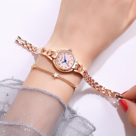 Pulsera reloj de cuarzo mujer diamante mujer pulsera decorativa reloj NHSY174433's discount tags