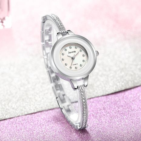 Reloj de pulsera de estudiante de diamante reloj de estudiante de moda reloj femenino pequeño simple NHSY174435's discount tags