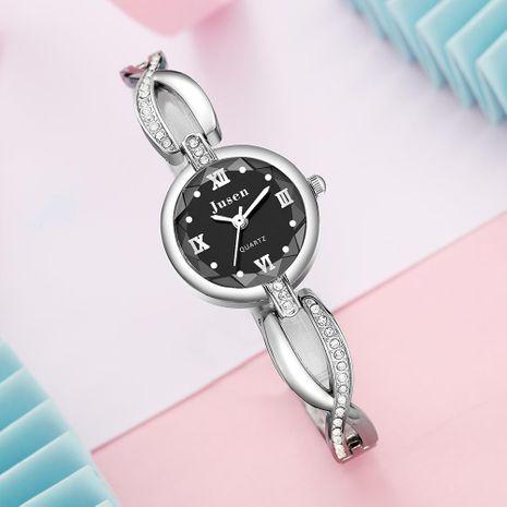 Pequeño y fino reloj de pulsera de cuarzo moda diamante corte de agua cara reloj de pulsera de estudiante virgen NHSY174437's discount tags