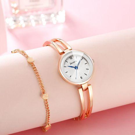 Reloj de cuarzo con pulsera fina Reloj de pulsera con cara de corte de agua simple NHSY174438's discount tags