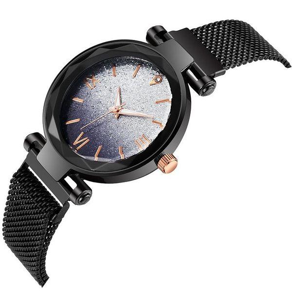 Roman digital color disguise watch watch magnet star watch stone NHMM174445