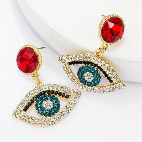 Pendientes de diamantes de imitación de diamantes de aleación de moda pendientes retro femeninos NHJE174328's discount tags