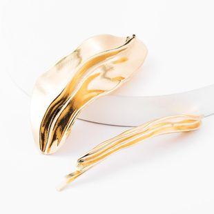 Alloy Irregular Geometric Hair Clip Set Combination Adult Top Clip One Clip Two Piece Set NHJE174342's discount tags