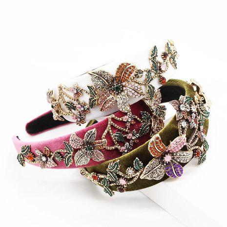 Nueva moda barroca de lujo pesado trabajo trompeta diadema transparente de baile NHWJ173940's discount tags