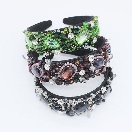 Nueva diadema full diamond gem multicolor bola de lujo accesorios de diadema de moda NHWJ173946's discount tags