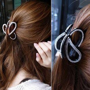 Water Drill Jewelry Hair Accessories Hair Drill Full Diamond Diamond Lady Hair Clips Large Medium Grip NHMS177142's discount tags